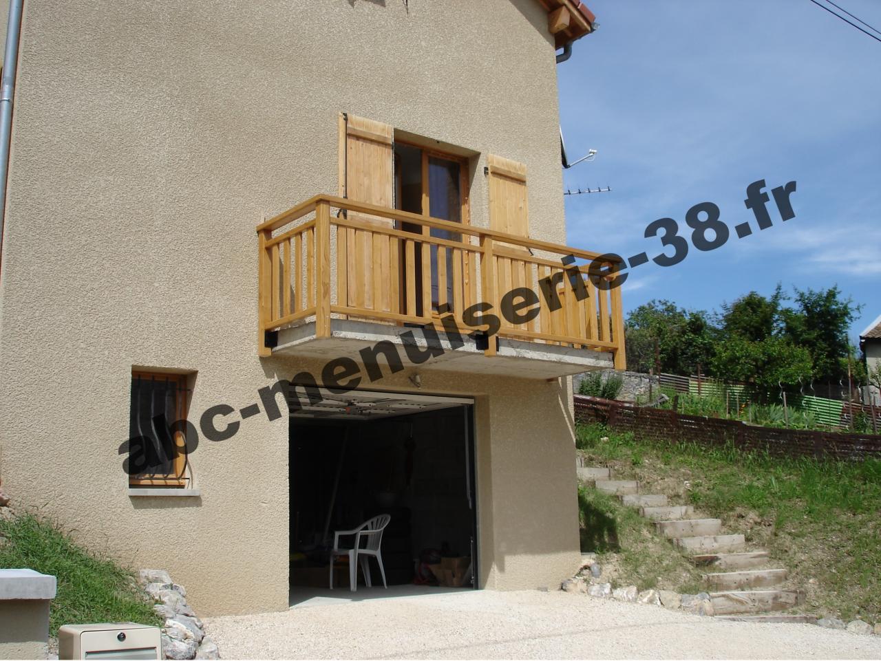 Balcon for Plan balcon exterieur