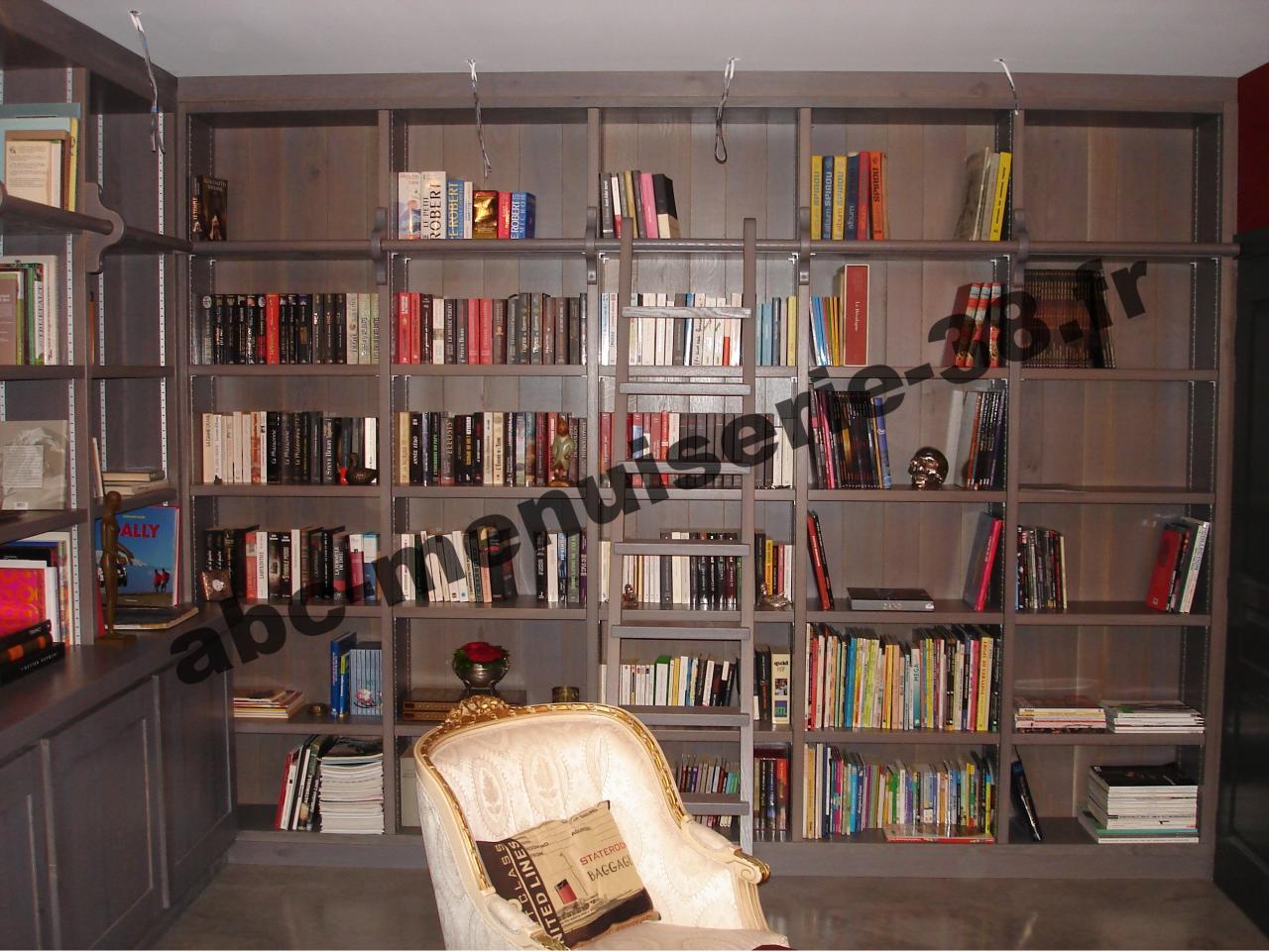 DSC01242 Bibliothèque en chêne