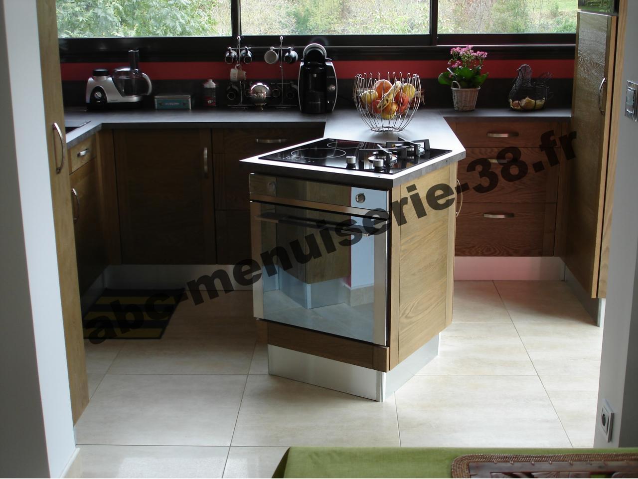 DSC02027 Cuisine en chêne teinté