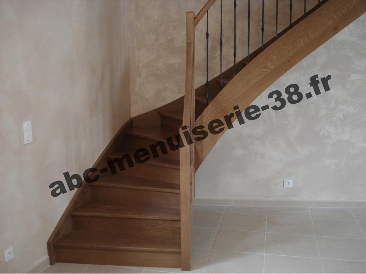 DSC02067 Escalier avec garde corps ballustre fantaisie