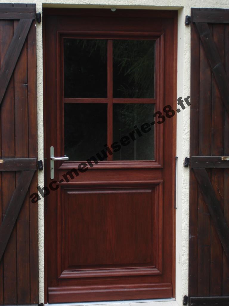 DSC02198 Porte d'entrée en chêne
